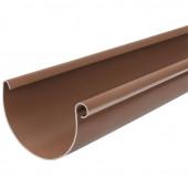 Водосточный желоб BRYZA D125 коричневый 3м