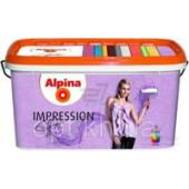Аlpina Accent Silhouette Impression Weiss 10lt (структурна круп фарба) (810721)
