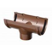 Воронка Инсталпласт D125 коричневый