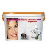 Аlpina Accent Silhouette Impression Weiss 5 l(структурна крупн Краска) (810722)